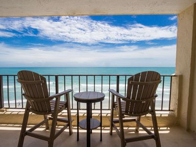 Photo for Perfect 4th Floor, 3 bdrm Oceanfront, Small Dogs OK w/Fee AT403