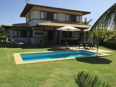 Photo for House in Praia do Forte with 5 bedrooms, pool, air conditioning