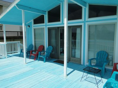 Photo for $98.00 SPECIAL MONTH OF AUG! Now sleeps 8 instead of 6. 3 min walk to the beach!
