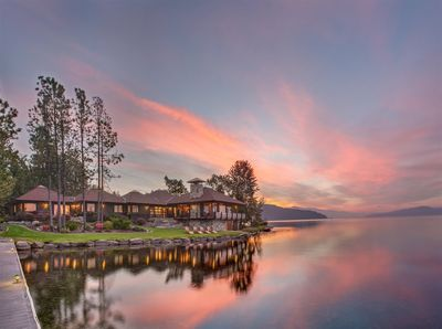 The Point at Sandpoint. 365` private waterfront. Luxury