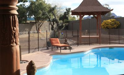 Photo for LOCATION!!  Smack dab in middle of Scottsdale & Phoenix, stunning LUXURY Remodel
