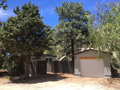 Photo for Newly renovated, clean, well-appointed home surrounded by AMAZING BOULDERS 🏡