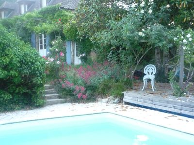 Photo for Old stone house with pool sauna / large garden /