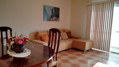Photo for Excellent and large apartment, block from the sea overlooking Avenida Brasil