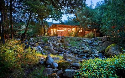 Rustic Lodge w/ WiFi, Scenic Views, Heated Pool, Outdoor Jacuzzi & Fireplace