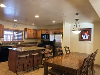 Photo for View of the Ski Resort! 4bd, 3.5bth, private hot tub, 2 car garage.