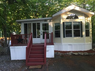 Photo for Clean & cozy updated family resort cottage!  Located on quiet dead end street.