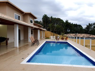 Photo for Farm near SP, with 3 suites, swimming pool and soccer field