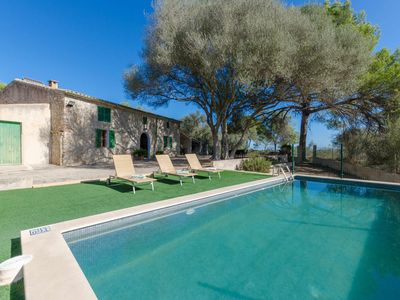 Photo for YourHouse Llampi, villa with private pool and WiFi near Sineu for 6 guests