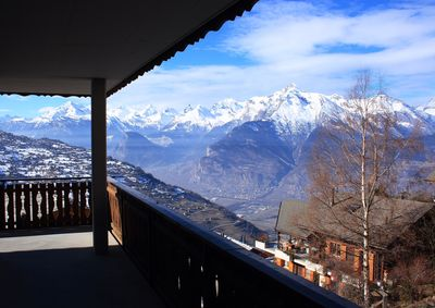 Enormous balcony with fabulous views. Faces west gets full sun afternoon/evening