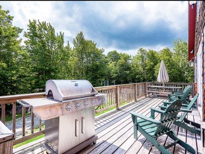 Photo for Views-Privacy-Jacuzzi-Modern Home - Clay Tennis Court -1/4 Mile from Mt. Snow