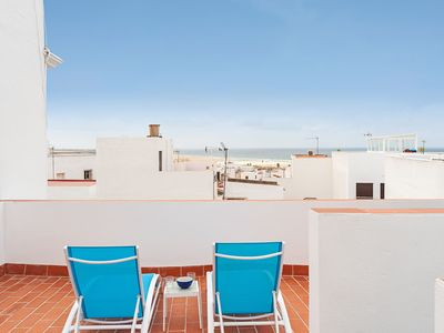 Photo for Modern Apartment in City Centre Close to Beach with Rooftop Terrace & Wi-Fi