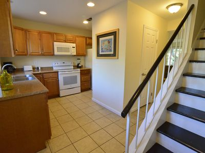 Photo for Pet Friendly Townhouse 1/2 Block to Beach! Top Location * Fenced Yard * Wifi!