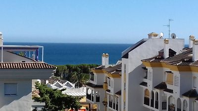 Photo for Wonderful Apartment on Two Floors, Sea View, Pools, Beautiful Gardens