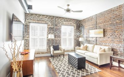 Photo for Stay with Lucky Savannah: Loft Living w/ Exposed Brick on Broughton Street