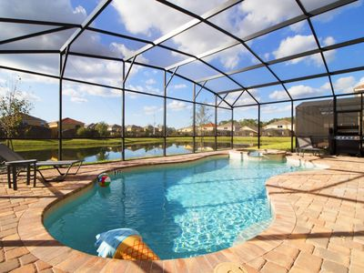 Photo for Disney On Budget - Golden Palms Resort - Beautiful Relaxing 8 Beds 6 Baths  Pool Villa - 6 Miles To Disney