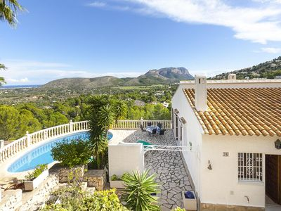 Photo for 3 bedroom Villa, sleeps 6 in Tosals with Pool, Air Con and WiFi