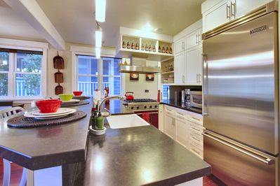 gourmet kitchen with the finest appliances and much more!