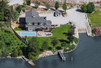 Sunken Acres Estate aerial view