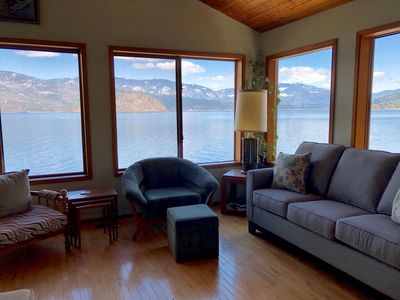 Photo for Shuswap-Blind Bay Beachfront- Full House and Cabin & Bunkhouse- Wifi sleeps 17+