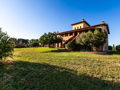Photo for THE HOUSE IN TUSCANY is on a wonderful hill in the green heart of the Valdichiana