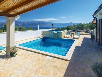 Photo for Holiday house Anabella  - Supetar, Island Brac, Croatia
