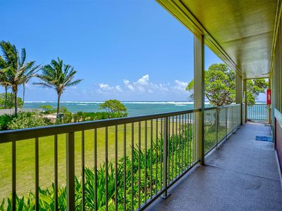 Photo for Privacy w/Ocean View! Modern Kitchen, WiFi, Flat Screen, Lanai–Kauai Kailani K212
