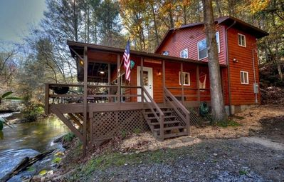 Photo for 2BR Cabin Vacation Rental in Blue Ridge, Georgia