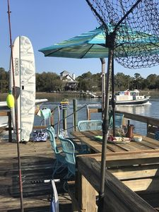 Photo for New Listing! Waterfront Private home and deep-water dock - Intracoastal Waterway