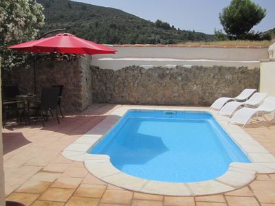Photo for Authentic Village House With Private Pool And Countryside Views, 25 mins Drive To Stunning Beache