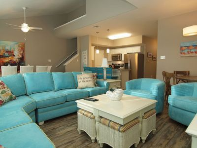 Photo for 5/4 Townhome near Schlitterbahn on North Padre
