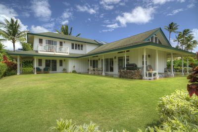Large, spacious beautiful plantation style home just 40 second walk to the ocean