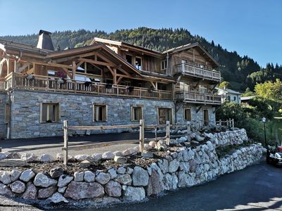 Photo for Stunning Self-Catered Ski chalet just outside of MORZINE Perfect for Families