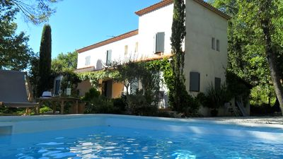 Photo for Quiet house with pool and close to tourist sites