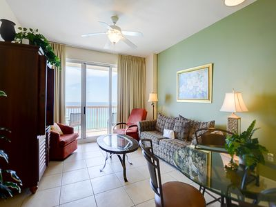 Photo for Lovely beachfront condo w/ stunning views, shared pools, & kids' water play area