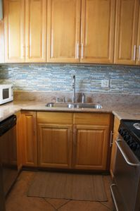 New cabinets and New appliances