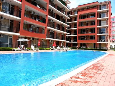 Photo for Sunset Beach 4 - Family apartment in the center of Sunny Beach