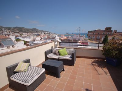 Photo for A Stunning Penthouse close to the beach