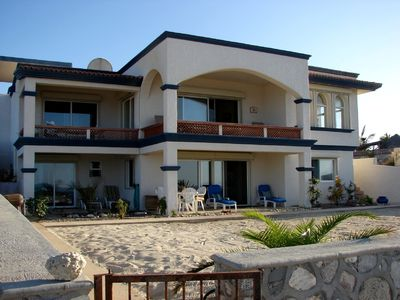 Photo for Gorgeous Beach Front Villa on the Sea of Cortez in Baja