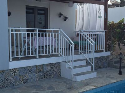 Photo for Stylish detached villa, private pool, roof terrace, sea view, coast NW