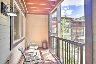 Hop on the brand new gondola mere steps from your vacation rental!