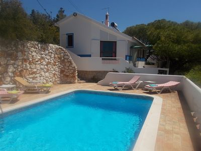 Photo for Fantastic house with seaview and private pool Now last minute prices April
