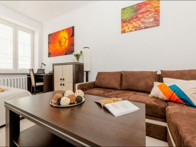 Photo for Plac Bankowy 1 apartment in Stare Miasto with WiFi.