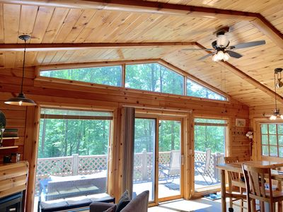 Photo for Fern Hill Cabin - charming getaway with all you need to escape the everyday!