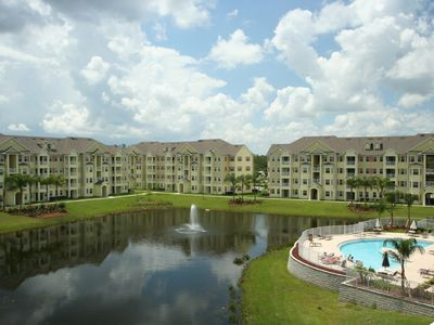 Photo for Newer Condo . - A Hop Skip & Jump to Disney -POOL & LAKE FRONT GREAT VIEW !