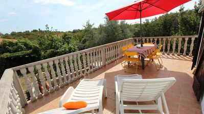 Photo for Holiday house with balcony and terrace