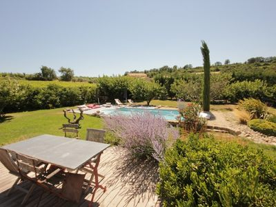 Photo for Villa in the countryside with stunning views and private pool.