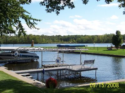 Photo for Relaxing,fun lakefront cottage you'll want to come back to.....A Little Piece of