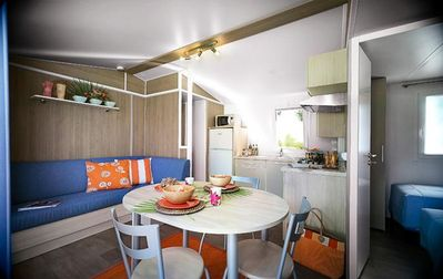 Photo for Camping Résidentiel La Pinède **** - Mobile Home Tribord 4 Rooms 6 People Holidays