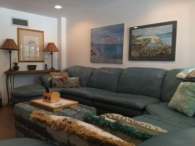 Family room with wrap-around sofa-LL